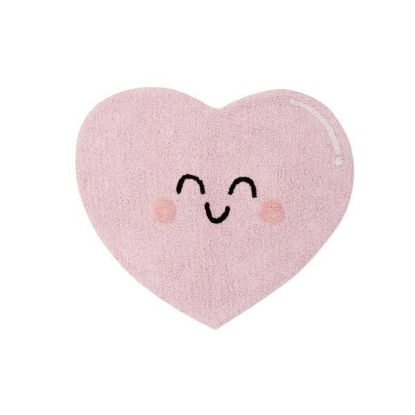 """Lorena Canals - Ковер """"Happy Heart"""" 90 х 105 cm"""