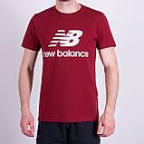 Чоловіча футболка NEW BALANCE, сірого кольору, фото 5