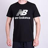Чоловіча футболка NEW BALANCE, кольору бордо, фото 7