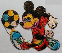 Вышивка клеевая Микки Маус 20 шт/уп.