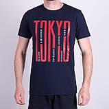 Чоловіча футболка, кольору бордо, фото 4