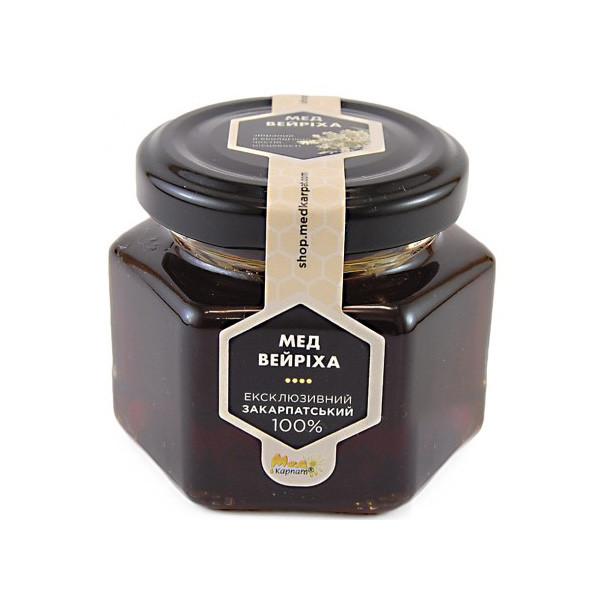 """Мед пчелиный натуральный, сорт: """"Вейриха"""" 120г"""