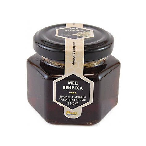 """Мед пчелиный натуральный, сорт: """"Вейриха"""" 120г, фото 2"""