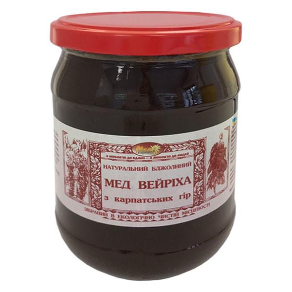 """Мед пчелиный натуральный, сорт: """"Вейриха"""" 600г"""