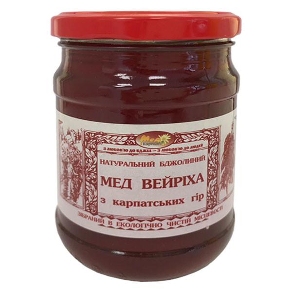 """Мед бджолиний натуральний, сорт: """"Вейриха"""" 350г"""