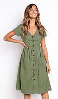 "Платье ""Vanilla"" green"