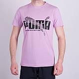 Чоловіча футболка Puma, білого кольору, фото 2