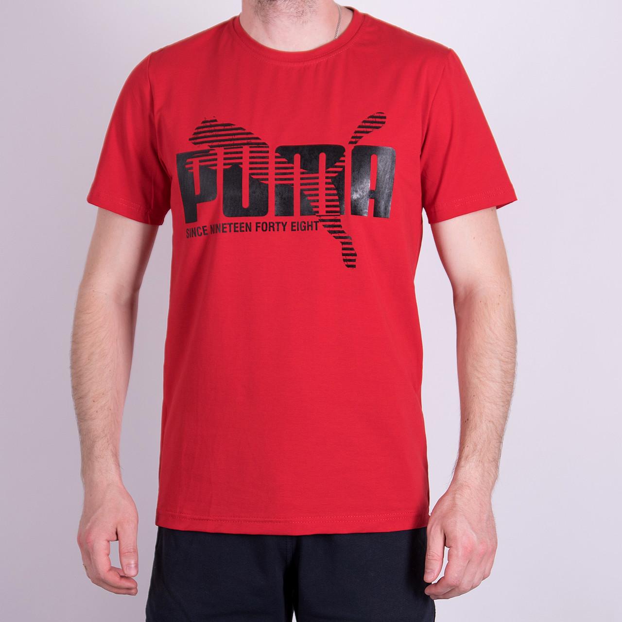 Чоловіча футболка Puma, червоного кольору