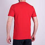 Чоловіча футболка Puma, червоного кольору, фото 2