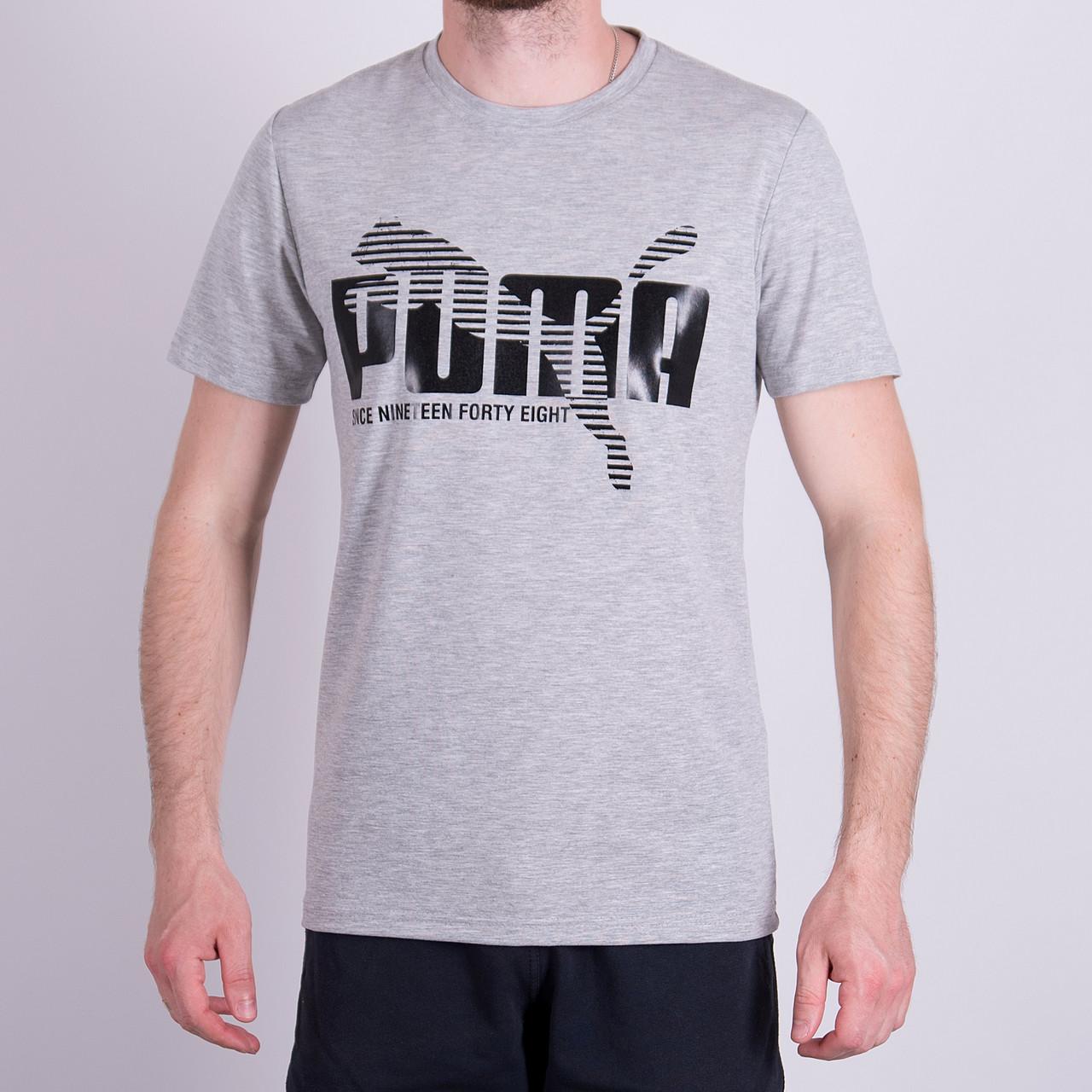Чоловіча футболка Puma, сірого кольору