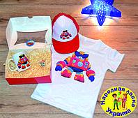 Набор подарочный Бравл Старс Вольт 3 в 1. Кепка-тракер, футболка, чашка. Лучший подарок ребёнку.