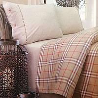 Комплект постельного белья Белорусский лен Злато-2 14с65 цв-1 рис-6 Двуспальный комплект