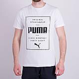 Чоловіча футболка Puma, темно-синього кольору, фото 6