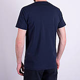 Чоловіча футболка Puma, темно-синього кольору, фото 2
