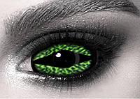 Склеры Animal Green ELITE Lens, склеральные линзы 22 мм. (N0054)