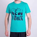 Чоловіча футболка, сірого кольору, фото 3