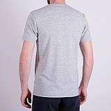 Чоловіча футболка, сірого кольору, фото 2
