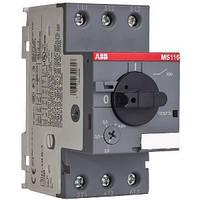 Автоматический выключатель для защиты двигателя.