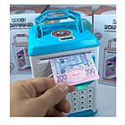 ОПТ Дитяча електронна скарбничка сейф з кодовим замком і відбитком пальця ROBOT BODYGUARD, фото 4