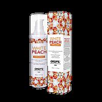 Массажное масло с ароматом белого персика EXSENS Organic 50мл