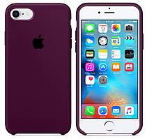 Чехол накладка xCase на iPhone 7/8/SE 2020 Silicone Case marsala