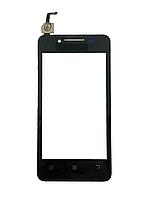 Сенсорный экран Lenovo A319 черный, фото 1