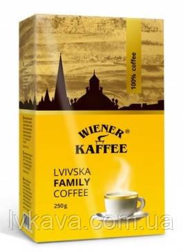 Кофе молотый Lvivska Family Віденська кава ,250г, фото 2