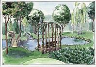 Устройство водоема в саду
