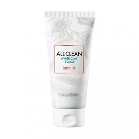 Пенка для умывания с белой глиной Heimish All Clean White Clay Foam Миниатюра 30 мл