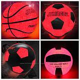 LED мяч баскетбольный Jymingde, 7 размер, фото 5