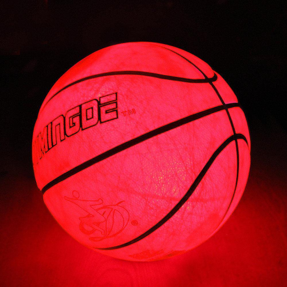 LED мяч баскетбольный Jymingde, 7 размер