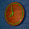 Часы с дерева и акрыла, фото 5