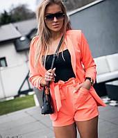 Женский Пиджак и шорты на высокой посадке, фото 1
