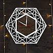 Часы с дизайнерские с ефектом серебра, фото 2