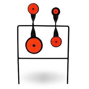 Оригинал Гонг Birchwood Casey World of Targets Duplex Spinner Target 46422