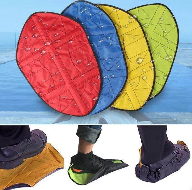 Многоразовые автоматические бахилы Automatic Shoe