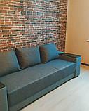 Самоклеюча 3D панель під цеглу Бежево-коричневу Катеринославську, декоративні 3Д панелі, фото 4