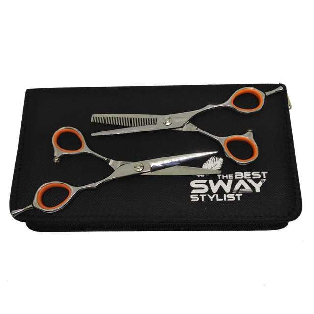 """Набор профессиональных парикмахерских ножниц SWAY GRAND 401, размер 5,5"""""""