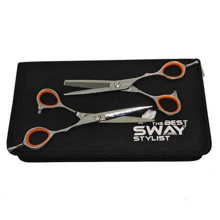 """Набор профессиональных парикмахерских ножниц SWAY GRAND 401, размер 5,5"""", фото 2"""