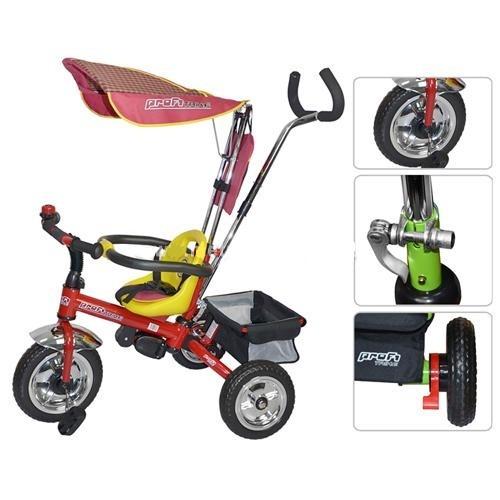 Детский трехколесный велосипед PROFI TRIKE EVA Foam M 0212.