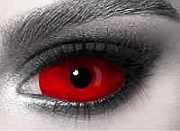 Красные линзы склеральные Red XL 22 мм (N0056)