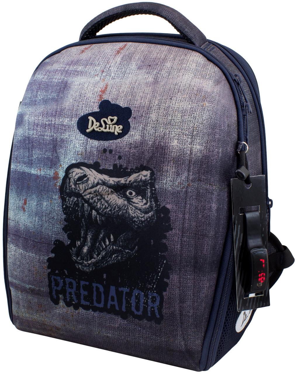 Шкільний рюкзак для хлопчика DeLune (рюкзак+смєнка+брелок) 7-151