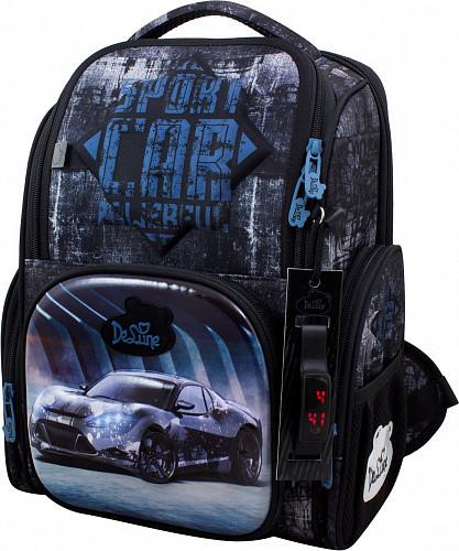 Школьный рюкзак для мальчика DeLune (рюкзак+сменка+брелок) 11-032