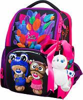 Школьный рюкзак для девочки DeLune (рюкзак+сменка+брелок) 11-027