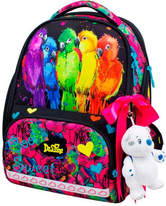 Ранец школьный для девочек DeLune 10-004 Рюкзк+сменка+пенал+брелок