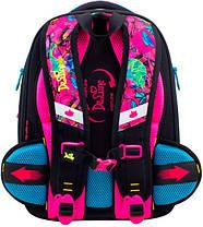 Ранец школьный для девочек DeLune 10-004 Рюкзк+сменка+пенал+брелок, фото 2