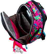 Ранец школьный для девочек DeLune 10-004 Рюкзк+сменка+пенал+брелок, фото 3