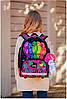 Ранец школьный для девочек DeLune 10-004 Рюкзк+сменка+пенал+брелок, фото 5