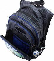 Ранец школьный для мальчиков DeLune 10-008 Рюкзк+сменка+пенал+брелок, фото 3