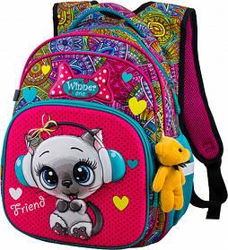 Рюкзак шкільний для дівчаток Winner One R3-220